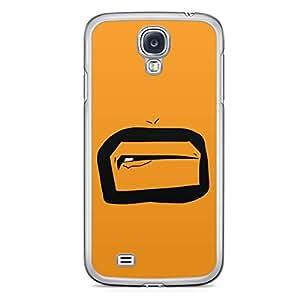 Smiley Samsung Galaxy S4 Transparent Edge Case - Design 5