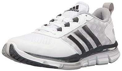 adidas Performance Men's Speed Trainer 2 Cross-Trainer Shoe, White/Carbon MET. Light Onix, 15 M US