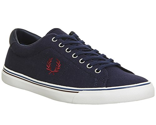 Underspin B9090C88 Perry Canvas Carbon Fred Basket Blue PwfvHa8x