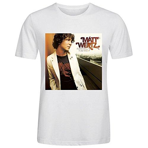 Matt Wertz Everything In Between Men T Shirts - North Camino Rio Del