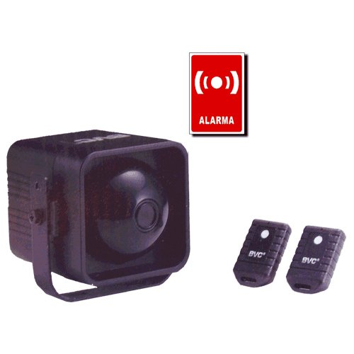 Elro CAR1 Universal Car Alarm, 100 dB, Ensor Enchufable, Set ...