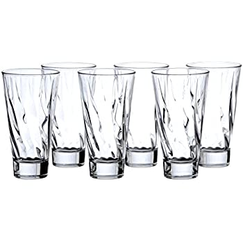 04fc5cd1e64 Crystal HIGHBALL Water Beverage Cocktail Glasses Sets