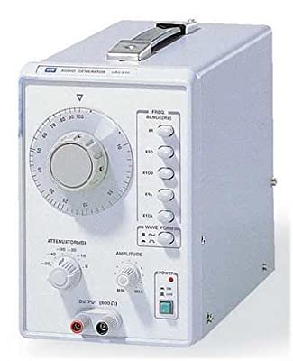 GW Instek GAG-810 Audio Generator, 10Hz to 1MHz Frequency Range