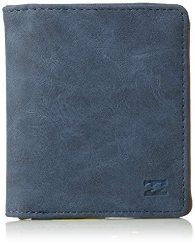Billabong Men's Gaviotas Pu Wallet Navy One Size (Billabong Card Wallet)