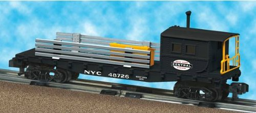American Flyer 6-48726 New York Central Boom Car NYC work caboose for crane - New Caboose Central York