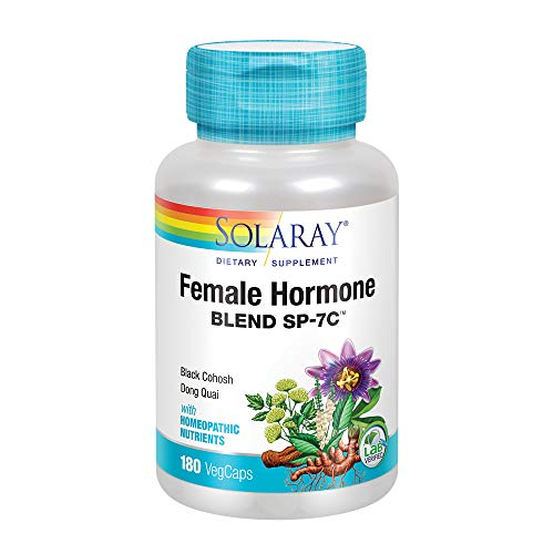 Solaray Female Hormone Blend SP-7C Capsules, 180 Count