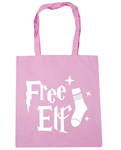 10 HippoWarehouse Gym Elf Free x38cm Classic 42cm Bag Tote Pink Shopping Beach litres zqwzdxrgT