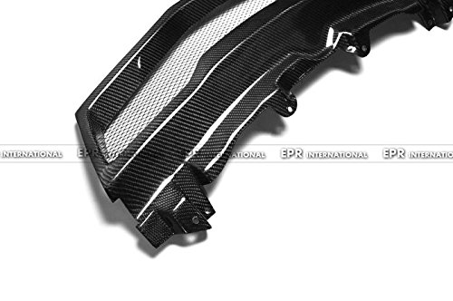 Carbon Fiber For HONDA 07-11 Civic FN2 Type R Front Bumper Grill Grille Cover With Mesh