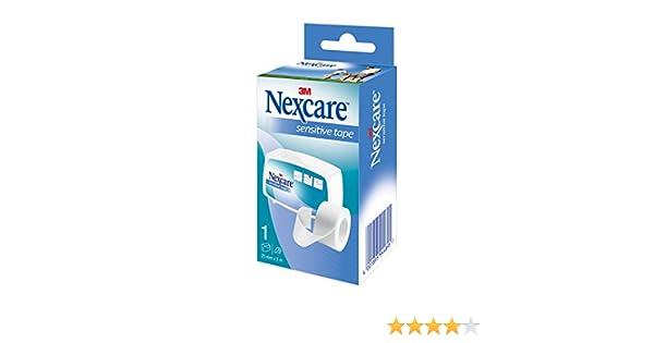 Nexcare 179893.8 - Esparadrapo de papel, 5 m x 2,5 cm: Amazon.es: Salud y cuidado personal