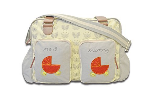 Cuddles Collection Me and Mummy Butterfly Changing Bag by Cuddles Collection