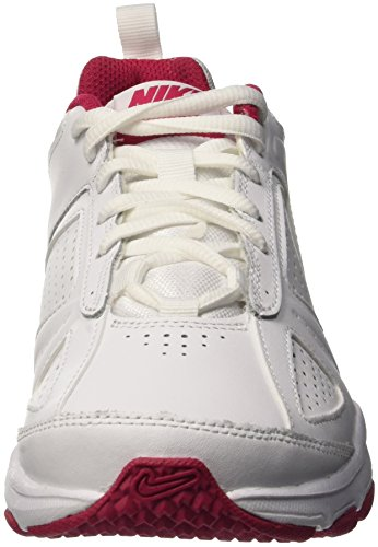 Nike T-Lite XI, Women's Fitness Shoes White (White/Metallic Silver-fuchsia Force)