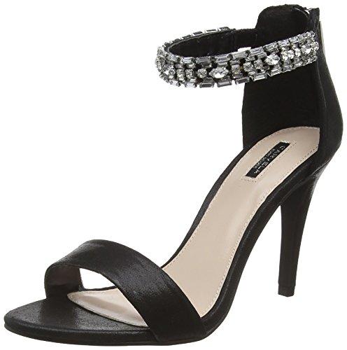 CarvelaGeorgie - Scarpe con Tacco Donna Nero (Nero)