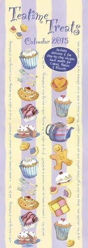 Emma Ball Teatime Treats slim calendar 2015 (Art calendar)