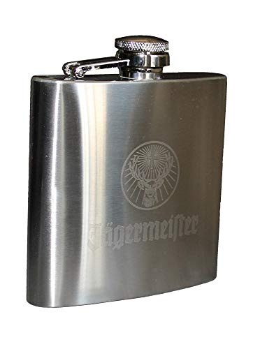 Jagermeister Stainless Steel Flask