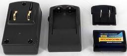 PowerSmart Battery Charger for ANSI 5032LC, CONTAX 2CR5, DURACELL DL245, DL245, ENERGIZER 2CR5, EL2CR5, FUJIFILM 2CR5, KODAK KL2CR5, MAXELL 2CR5, NIKON 2CR5, DL245, PENTAX 2CR5, PHILIPS 2CR5, POLAROID PR2CR5, RAYOVAC RL2CR5, RL2CR5-1, SANYO 2CR5, SONY 2CR