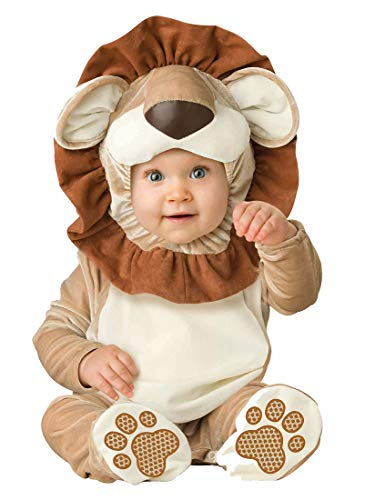 Faerynicethings Infant Costume Lovable Lion - 6/12 Months - Halloween Costume ()