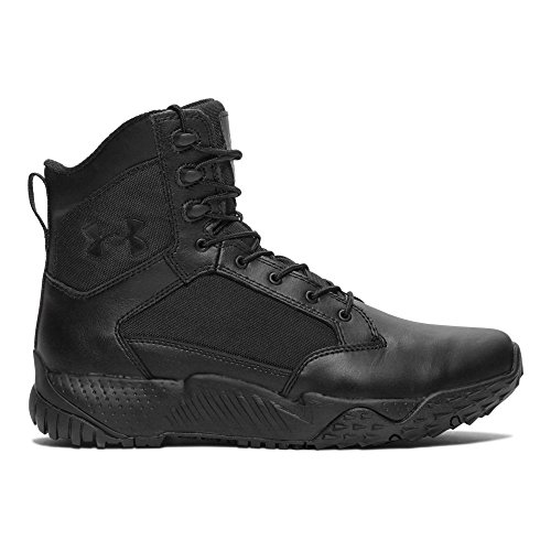 Under Armour Men's Stellar Military and Tactical Boot, Black Black (001)/Black, 12