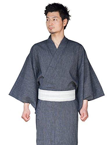 Japan Kimono Robe Yukata Spa Robe Samurai Costumes Men LL Japan Anime Mt.fuji (Yukata Costume)