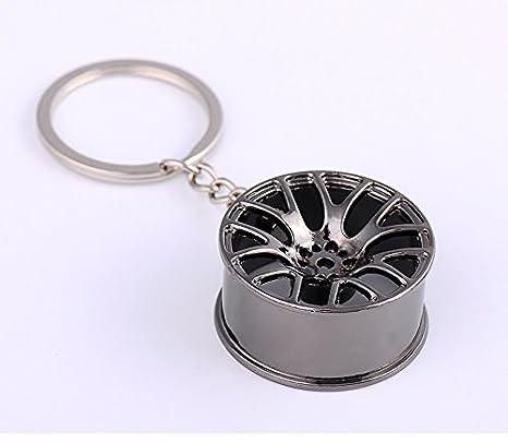 Modificación de Automóviles Hub, Turbo carga forma clave hebilla/llavero/ Bolsa Adornos (