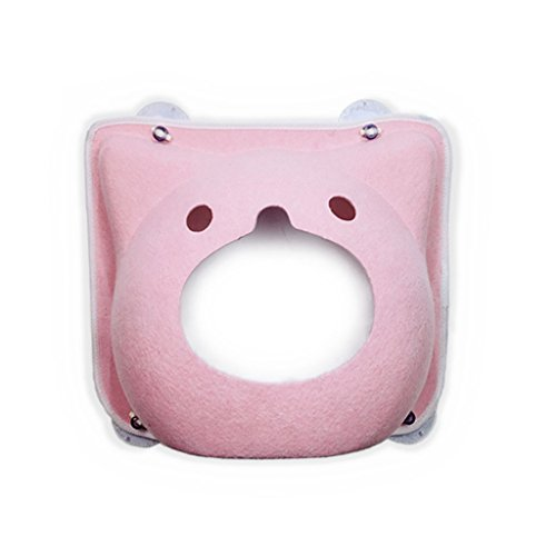 Beds Dogs Furniture Cat Hammock Pet Dog Pet Jumping Platform Cat Climbing Frame Balcony Wall Suction Plate 20kg (Color : Pink) -  Chi Cheng Fang Electronic business
