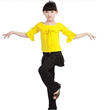 eedf2b7ae441 Buy Baby And Blossoms Latin Salsa Tango Ballroom Dance Dress Costume For  Kids (5-7 Years) Online at Low Prices in India - Amazon.in