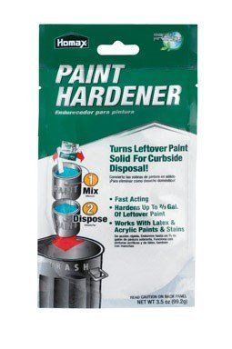 Homax - 3535 Fast Acting Waste Away Paint Hardener – 3.5oz (6 Pack)