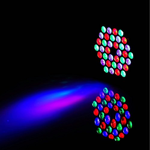 Lightess LED Can Par Lights 36X1W LEDs RGB Disco Lights with Auto-run and DMX512 Control Mode Stage Lighting Party Show for Home KTV Birthday Parties ...  sc 1 st  Amazon UK & Lightess LED Can Par Lights 36X1W LEDs RGB Disco Lights with Auto ... azcodes.com