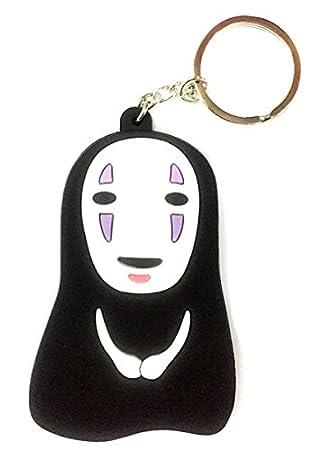 Anime japonés Chihiro No cara/sin rostro Kaonashi Llavero de ...