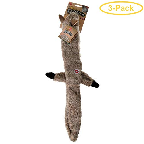 Spot Skinneeez Extreme Quilted Squirrel Toy - Regular (3 Pack)