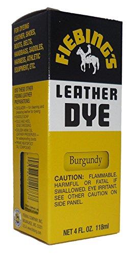Fiebing's Leather Dye w/ Applicator 4 oz. (Burgundy)