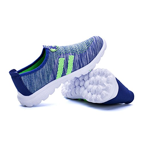 Women's Fashion Blue Sneakers Unisex Athletic fereshte Green Sports Men's Couple and Mesh Breathable Casual Shoes wXqxcAtHyf