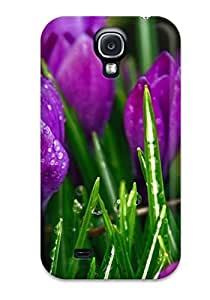 rebecca slater's Shop 5348775K57053424 Cute High Quality Galaxy S4 Purple Strange Flowers Case