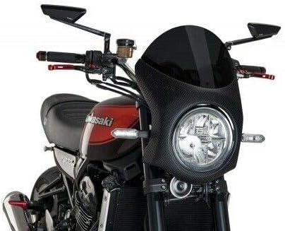 Verkleidung carbonlook PU-9596F Verkleidung Kawa Z900RS 18 Scheibe get/önt 90/%
