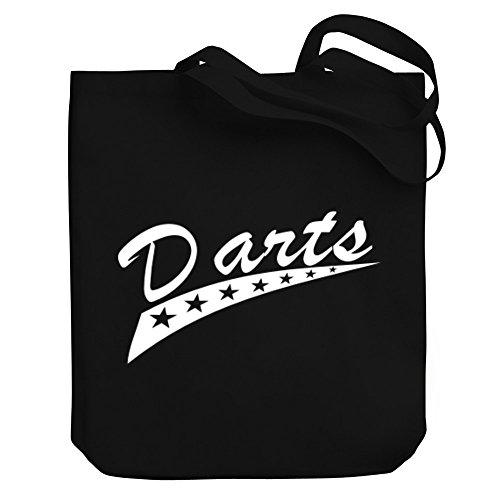 Teeburon Darts STAR Canvas Tote Bag