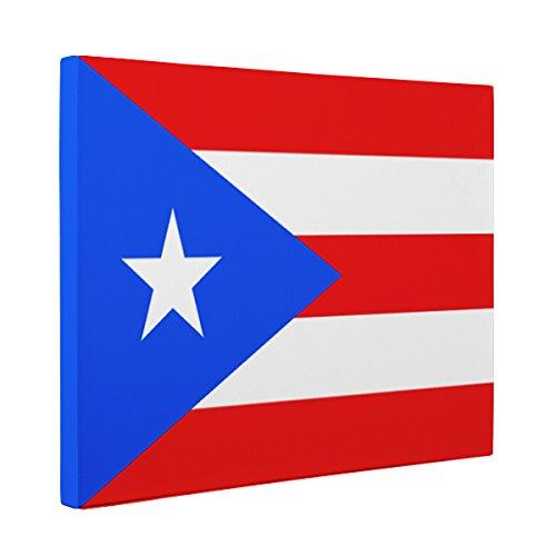 Amazon.com: Puerto Rico Flag CANVAS Wall Art Home Décor: Handmade