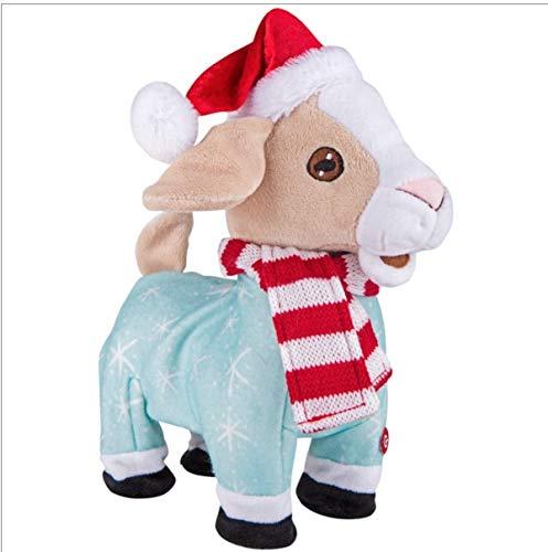 Walgreens Animated Plush Holiday Singing Dancing Goat (Goat) (Goat Singing Christmas)
