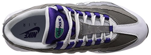 NIKE Gris Blanc Vert 95 Violet 109 Émeraude Baskets WMNS Max Air Femme Court Multicolore Loup rqTAvr