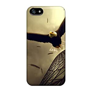 New Eagle Flight PC Anti-scratch Pure For Ipod Touch 5 Phone Case Cover
