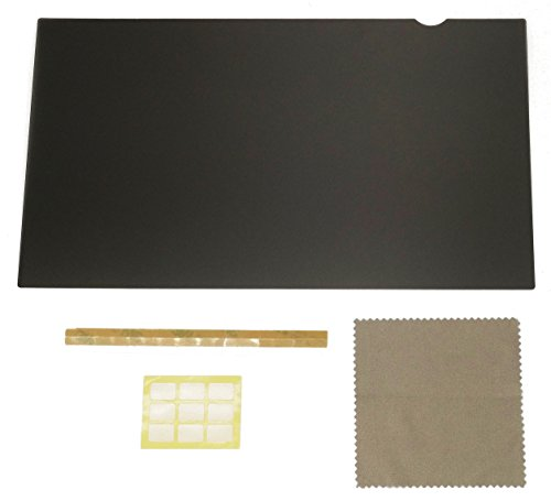 24-Inch Computer Privacy Screen Filter for Desktop Monitors (Diagonally-Measured); Anti-glare Anti-scratch Film; Protects Sensitive Confidential Data (24'' Widescreen (16:9 Aspect Ratio)) by Linnai Products (Image #5)