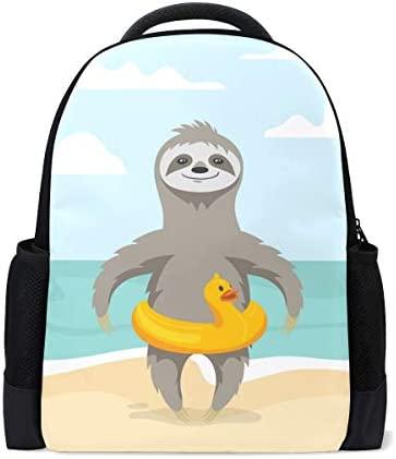 Naanle Happy Cartoon Sloth - Mochila Hinchable, diseño de Pato ...