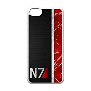 DIY phone case Mass Effect skin cover For iPhone 5C SQ703275