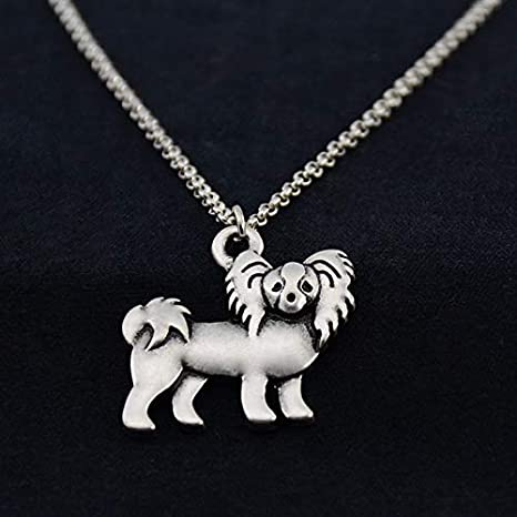 Vintage Pug Dog Pendant Chain Necklaces Men Women Jewelry Animal Lovers Gift