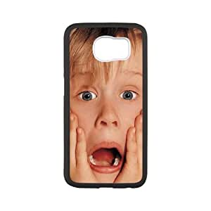 Home Alone( Samsung Galaxy S6 Cell Phone Case White Phone cover M8819471