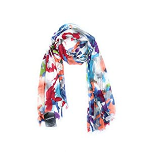 Bratkrok Rayon Floral Printed Scarf, scarves, stole & Shawl for Women for Summers