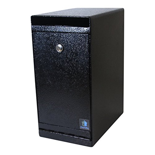 CastleBox Designs Cash Depository Money Safe with Drop Slot - Rock The Cash Box