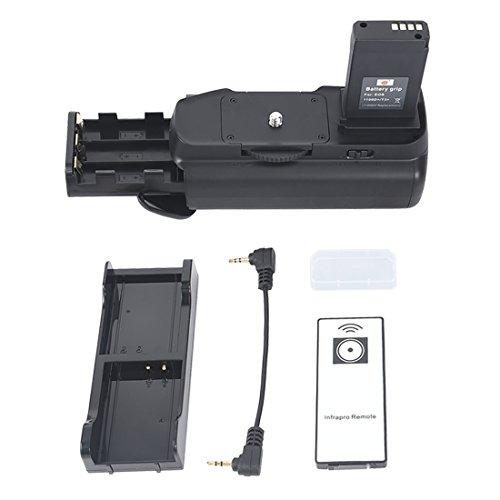 DSTE Pro IR Remote BG-E10 Vertical Battery Grip for Canon EOS 1100D Rebel T3 Rebel T6 1200D 1300D as LP-E10