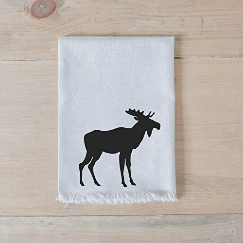 Moose Napkin, Handmade in the USA, home decor, housewarming gift, tableware, table, place setting, home decor, dinner party, place setting, table setting
