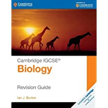 Cambridge IGCSE® Biology Revision Guide