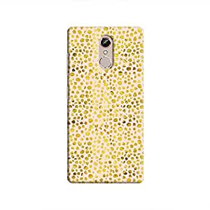 Cover It Up - Gold Pink Pebbles Mosaic Gionee S6s Hard Case