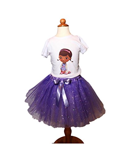 Girl Doc MCstuffin TUTU birthday outfit Girl Doc MCstuffin age name tutu dress Doc Mcstuffin tutu dress girl tutu Doc outfit girl Doc (Doc Mcstuffins Birthday Outfit)